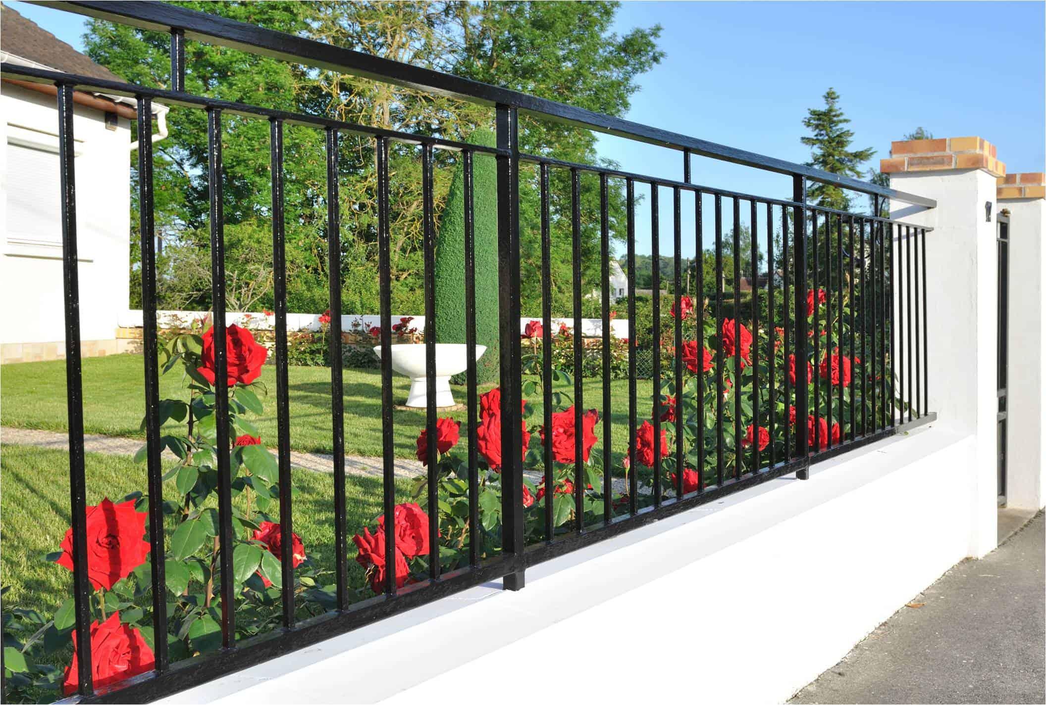 iron fence San Bernardino